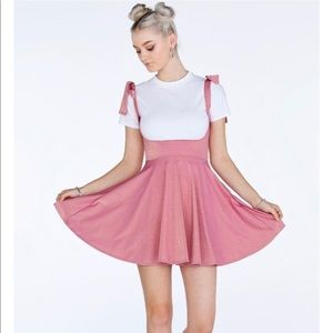 Blackmilk Barbie Party Underbust Dress